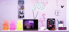 Neon life collection at Dominationkid via Sims 4 Updates