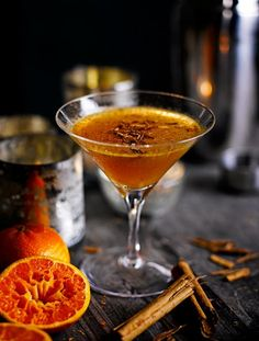 Winter Daiquiri: Maple syrup and clementine juice give the summer staple a winter twist.