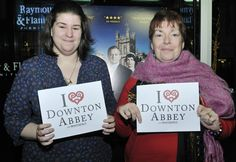 These two love the relationship between Cora and her daughters! #iheartdowntonabbey