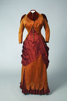 Homer, Le Boutillier & Co. day dress ca. 1880 From the Drexel Historic Costume Collection
