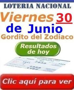 Gordito Del Zodiaco Viernes 30 de Junio 2017 (Gordito de Junio) Loteria Nacional De Panama