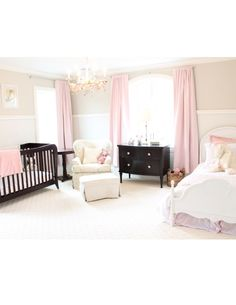 Nursery - soft pink - baby girl
