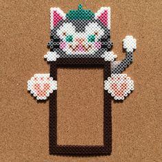 perler beads by tsubasa.yamashita fuse beads hama beads nabbi beads nano beads perler beads アイロンビーズ 拼豆 拼拼豆豆
