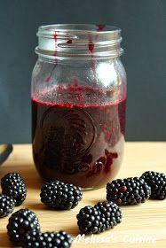 Melissa's Cuisine: Blackberry Sauce