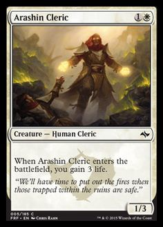 Arashin Cleric | FATE REFORGED Visual Spoiler