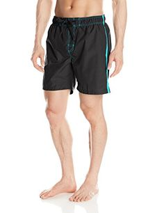 Introducing Kanu Surf Mens Carve Swim Trunk Black Medium. Grab Your Swimsuits Here and follow us for more updates!