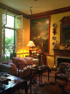 """Jennifer Boles, """"A Visit to Furlow Gatewood,"""" The Peak of Chic (8 April 2015). Arranged through the Institute of Classical Architecture and Art."""
