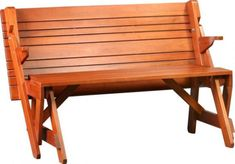 Two in One Convertible Bench and Picnic Table