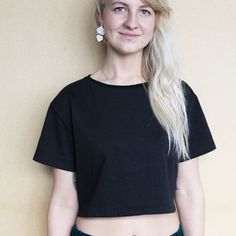 Adella Crop T-Shirt   Weecos