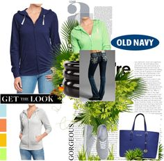 """""""Old navy Tee hoodies #16"""" by kitty-wasch on Polyvore"""