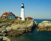 Lighthouses in Maine - Portland Maine Lighthouses Places To Travel, Travel Destinations, Places To Visit, Portland Maine Lighthouse, Beautiful Buildings, Beautiful Places, Maine Lighthouses, United States Travel, Vacation Spots
