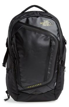 Free shipping and returns on The North Face 'Inductor Charged' Backpack at Nordstrom.com. Keep your tech organized and powered up wherever your adventures take you with a smartly designed backpack featuring a removable Joey T55 battery pack, dedicated lay-flat laptop pocket and reflective details for enhanced visibility.