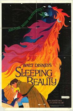 Sleeping Beauty posters for sale online. Buy Sleeping Beauty movie posters from Movie Poster Shop. We're your movie poster source for new releases and vintage movie posters. Walt Disney Animation, Disney Pixar, Retro Disney, Disney Amor, Art Disney, Film Disney, Disney Villains, Animation Film, Vintage Disney