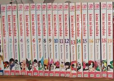 Kimi ni Todoke (From Me to You) by Karuho Shiina.  (Published in US by Viz.)  As of 07/19/2015, I still need volumes 21+.