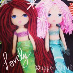 Upper Dhali Mermaids handmade doll The Little Mermaid