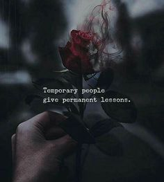 Positive Quotes : QUOTATION – Image : Quotes Of the day – Description Temporary people give permanent lessons. Sharing is Power – Don't forget to share this quote ! Reality Quotes, Mood Quotes, Attitude Quotes, True Quotes, Best Quotes, Motivational Quotes, Inspirational Quotes, Quotes About Karma, Quotes About Stress