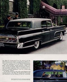 1959 Lincoln Mark IV Continental Town Car