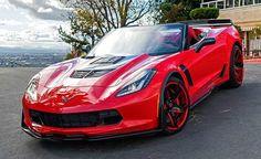 Callaway Corvette Z06 Stingray on Forgiato Wheels