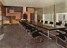 Giuseppe Terragni, Conference room from the Casa del Fascio, Como, 1932-36