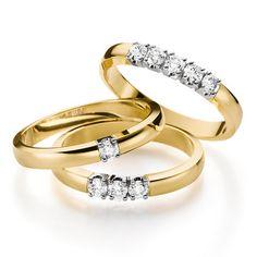 Mémoire ringen in geelgoud of witgoud   verkrijgbaar met verschillenden aantal en soorten grote van diamant   mooi om naast je trouwring te dragen #moederdag #moederdagcadeau #cadeautip #sieraad #ring #goudenring #jdbw