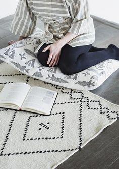 Saana ja Olli Koko iäksi Mums Nordic design Carpet Matto