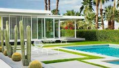 Terraza y área de piscina