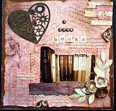 I love Books - Scrapbook.com