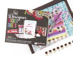 designer sticker sheets - $12.95 #ecaccessories #ecstickers #DIY
