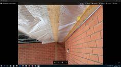 Подшив и утепление потолка  из металлических фермах