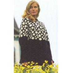 Snebolde-sweater fra Istex - Køb garn og opskrifter fra Istex her
