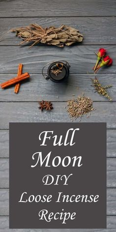 witchcraft paganism incense recipe moody moons full moon diy Full Moon Incense Recipe DIY Paganism Witchcraft Moody MoonsYou can find Witchcraft diy and more on our website New Moon Rituals, Full Moon Ritual, Wiccan Decor, Wiccan Crafts, Homemade Incense, Herbal Magic, Smudge Sticks, Kitchen Witch, Herbal Remedies