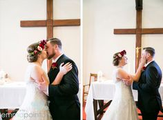 Zoe & Steven Fremantle Wedding - Notre Dame University Church Service