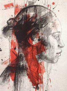 Lionel Smit is a contemporary South African artist. Portraits, Portrait Art, Advanced Higher Art, Art Alevel, Trash Polka, African Artists, Modern Art Paintings, Expressive Art, A Level Art