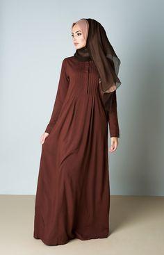 Tea Rose & Cocoa Chiffon Silk Hijab