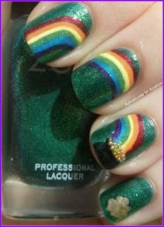 I don't ever pin nail polish stuff, but this one takes the cake!