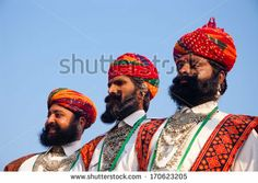 BIKANER, INDIA - January 10: Unidentified people participate in Camel Festival on January 10, 2009 in Bikaner, Rajastan, India.  The pageant...