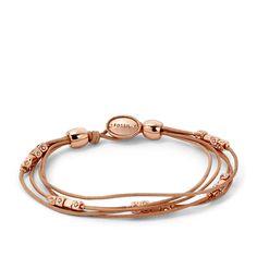Bracelet en cuir sable