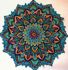 loveee the colors in this mandala. Mandala Tattoo Design, Mandala Art, Mandala Arm Tattoo, Mandalas Drawing, Mandala Painting, Mandala Pattern, Zentangles, Colorful Mandala Tattoo, Tattoo Shoulder Men