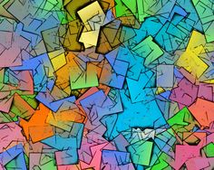 XERADO - Title: The Archaeology of Imagination 000.001E - Media: passion, perception, paint, pastel, pen, pencil, puter, perspiration, perseverance... - Size: Scalable - Date: 2014