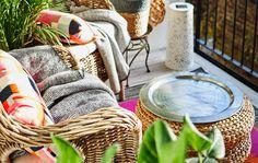 Inspiration pour faire de son balcon un refuge anti-stress.