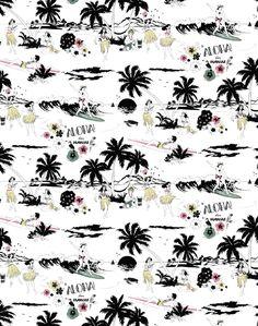 Aloha! Wallpaper Color