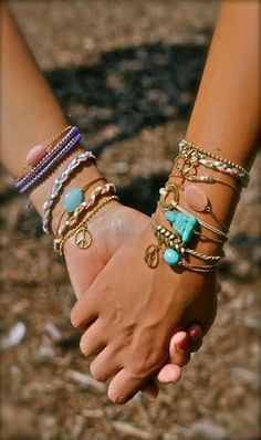 BFF bracelets by Follow your Bliss - Inspirational accessories