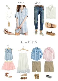 Summer Family Picture Outfits Discover What to Wear in a Family Photo Shoot - The Motherchic use the panetone colors of the year to inspire your outfits for your next family photo shoot. Heres what to wear! Spring Family Pictures, Family Beach Pictures, Family Pics, Senior Pictures, Family Portrait Outfits, Family Picture Outfits, Summer Family Portraits, Family Posing, Family Photo Colors