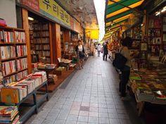 Gosta de livros? Então não deixe de conhecer Bosu-dong Bookstore Alley