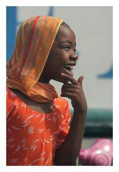 Joy in the harbour - Dar es Salaam, Tanzania.
