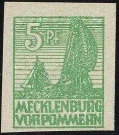 """feiner Wert """"mittelgrün"""", gepr. Kramp, Michelwert 240.- (10)    Automatically generated translation:  Fine value """"medium green"""", expertized Kramp, Michel value 240.- (10)    Dealer  Eisenhammer Stamp Auctions    Auction  Minimum Bid:  50.00EUR"""