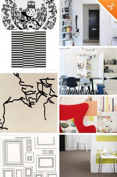 Interior Design Trends for 2013: Graphic Patterns