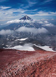 Koryak Volcano, Kamchatka, Siberia, Russia.