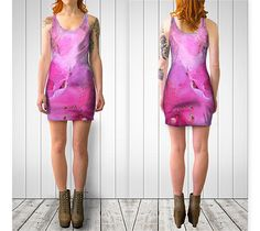 "Bodycon+dress+""Magenta+Rhodi+Fitted+Dress""+by+Julia+Donaldson"