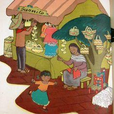 Juanita by Leo Politi 1948 / A Mexican Girl Celebrates Easter In Her Neighborhood / Caldecott Medal Winner